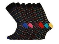 Mens Pierre Calvini Socks 6 Pairs, Mens 6-11