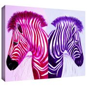 """18x12"""" Zebra Design Canvas Print Reduced from £4.50 to Just £1.23 (Add-On)"""