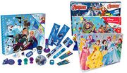 Disney Stationary Advent Cale/ndars - 12 Designs! £6.99 Instead of £29.99;
