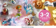 3 for 2 on selected Christmas decorations