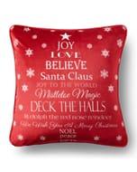 Christmas Wishes Cushion HALF PRICE