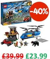 LEGO CITY - Mountain Arrest (60173) 303 Pieces