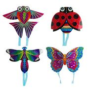 Children Kids Adults Cartoon Insect Mini String Flying Kites Outdoor Sport