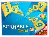 Mattel Games Y9667 Scrabble Junior Children Board Game from 6 Years
