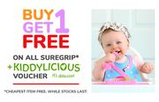 Buy 1 Get 1 Free on All Suregrip!