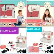 Great British Sewing Bee Kids Sewing Machine Studio £36.99 + Station £26.49