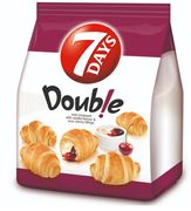 Sour Cherry and Vanilla Flavour Filling Mini Croissant