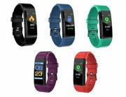 Fitness Tracker with Blood Pressure Monitor Health iOS/Android