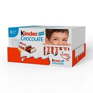 Kinder Chocolate Small Bars (Box of 10 Packs X 100g, Total 80 Bars X 12.5g)