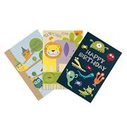 Hallmark Simply for You Birthday Card Bundle, Pack of Six