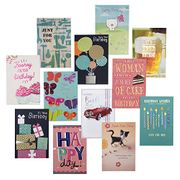 Hallmark Simply for You Birthday Card Bundle, Pack of 12