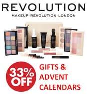 1/3 off Revolution Beauty Gift Sets & Advent Calendars!