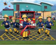 Fireman Sam Wallpaper Mural 8ft by 10ft at Argos eBay with Free Delivery
