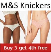 M&S Knickers - 4 for 3 Deal