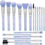 Marble Pattern Make up Brushes Set Professional