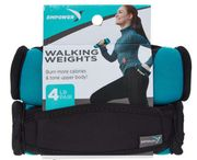 EMPOWER Teal Walking Weight Pair 1.8kg