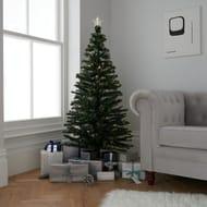 Argos Home 5ft Fibre Optic Christmas Tree - Warm White