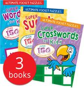 Ultimate Pocket Puzzles Collection - 3 Books