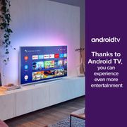Philips 43-Inch 4K Ultra HD Android Smart TV with Ambilight Works with Alexa,