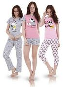 Ladies Snoopy Pyjamas Down From £20 to £6.99