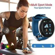 IP65 Waterproof Activity Trackers Sport Smart Watch