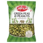 Cofresh Spicy Green Peas & Peanuts 325G - Save £0.25!