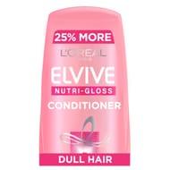 L'oreal Elvive Nutri-Gloss Shine Hair Conditioner 500ml - HALF PRICE!