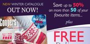 Coopers of Stortford - Free Delivery When You Spend £15 or More