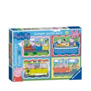 Peppa Pig Pack of 4 42 Piece Jigsaw Puzzles - HALF PRICE: £9