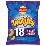 Walkers Wotsits Cheesy Snacks 18 X 16.5G - Save £1.50!