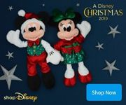 15% off Selected Full Price + Christmas Mickey or Minnie for £12.50 WYS £10