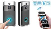 3-in-1 Smartphone-Connected Video Doorbell with Intercom - 2 Colours