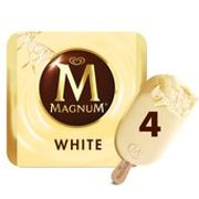 Morrisons 4 Pack Magnums - Classic, White & Mint