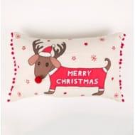 Christmas Dachshund Cushion - 45% Off!
