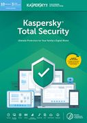 Kaspersky Total Security 2020 for 10 Devices for 1 Year £16.99 at Amazon UK