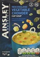 Best Price! under 17p Each! Ainsley Harriott New England Veg Chowder Soup X 36