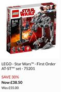 LEGO - Star Wars - First Order AT-ST' Set - 75201