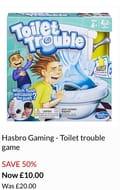 Hasbro Gaming - Toilet Trouble Game