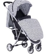 My Babiie MBX6 Pushchair *Sam Faiers Collection* - Black Wave/Navy Flamingo