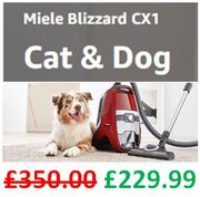 Miele Blizzard CX1 - CAT and DOG - PowerLine Bagless Vacuum Cleaner