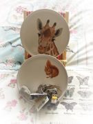 7 Bits and Bobs Fully Personalised Ceramic Plates.