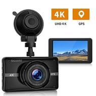 TOGUARD 4K Dash Cam Built-in GPS Dash Camera
