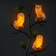 Garden Solar Owl Tree Family #Amazing# and Not Found Anywhere Else!
