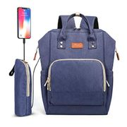 Baby Nappy Changing Bag Backpack 26L - Blue