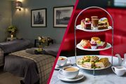 Deal Stack - Spa Day + Afternoon Tea for 2 (41% off + EXTRA 23%) - 322 Locations