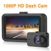 """Dash Cam 1080P with Night Vision 3.0"""" LCD Screen 170 Wide Angle"""