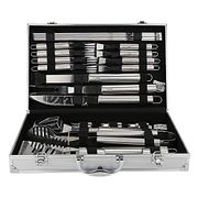 U-MISS BBQ Grill Tools Set with 26 Barbecue Accessories