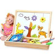 Alytimes Magnetic Puzzle Wooden Animal Travel