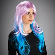 Witches Wig - Pink & Blue