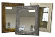 Large Ornate Antique-Style Wall Mirror - 3 Colours!